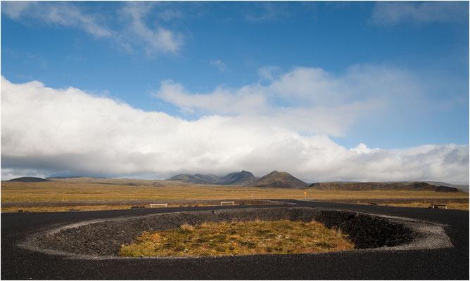 Island, auf einer Hochebene