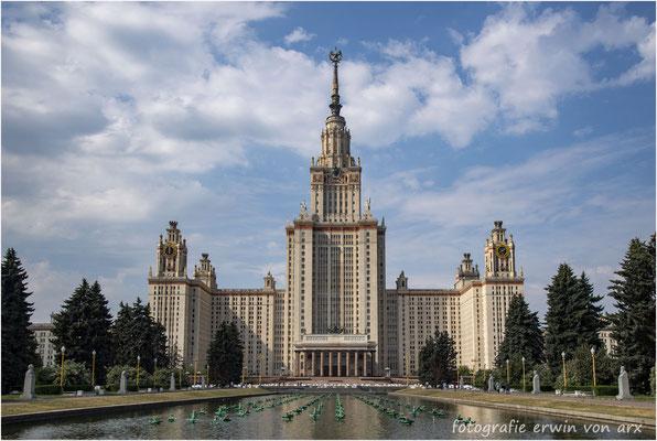 Moskau. Lomonossow Universität