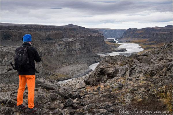 Jökulsargljufur canyon