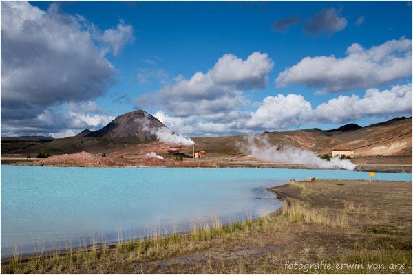 Geothermisches Kraftwerk