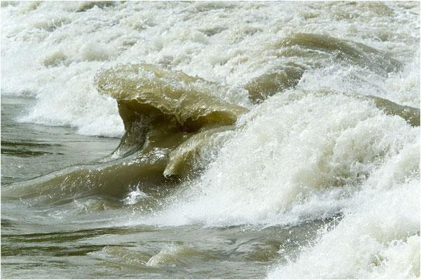Schönenwerd, Hochwasser bei der Schwelli