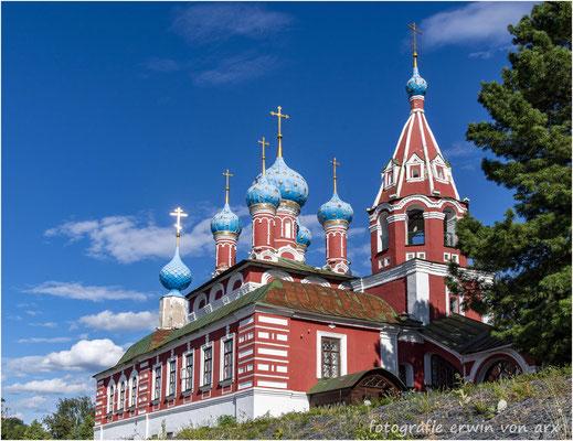 Uglisch, Kremel. Die Kirche von Zarewitsch Dimitri dem Märtyrer. (Blutskirche)