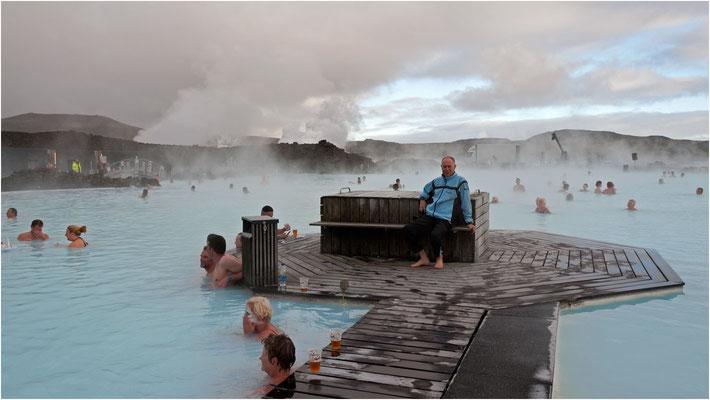 Island, in der Blauen Lagune