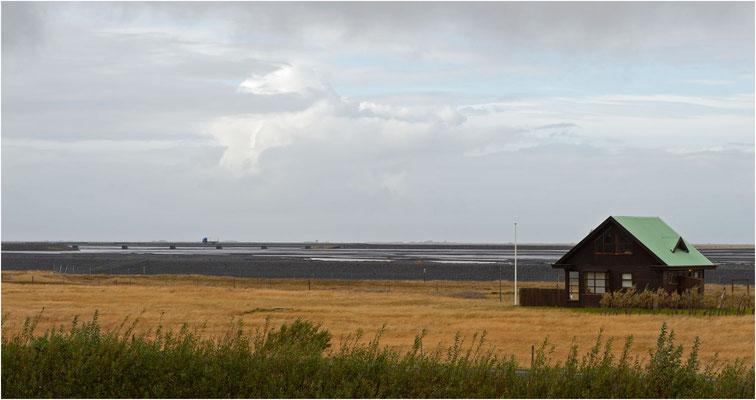 Island, diese Gegend wurde bei Ausbruch des Eyjafjallajökull überflutet