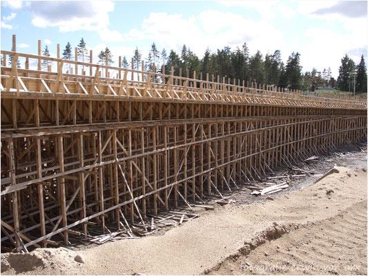 Brückenbau in Finnland