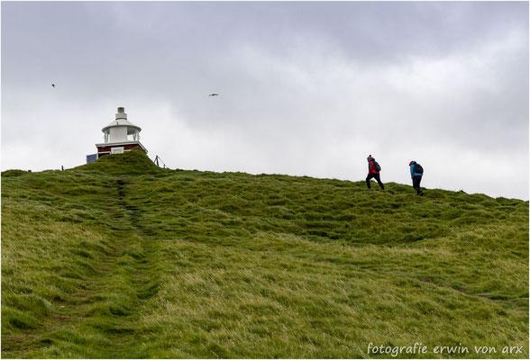 Aufstieg zum Leuchtturm Kallur