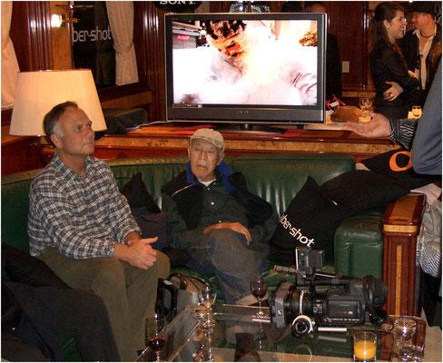 Am gleichen Anlass wurde PHIL STERN (Bildmitte) für sein Lebenswerk ausgezeichnet