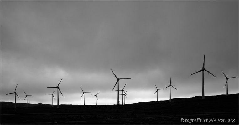 Die Windernergieanlage Húsareyn
