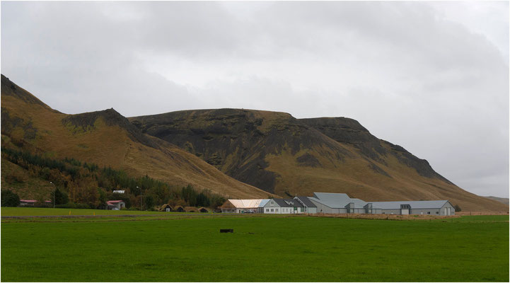 Island, einsame Farm