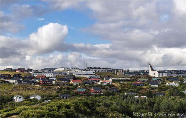 Ein neueres Viertel von Tórshavn