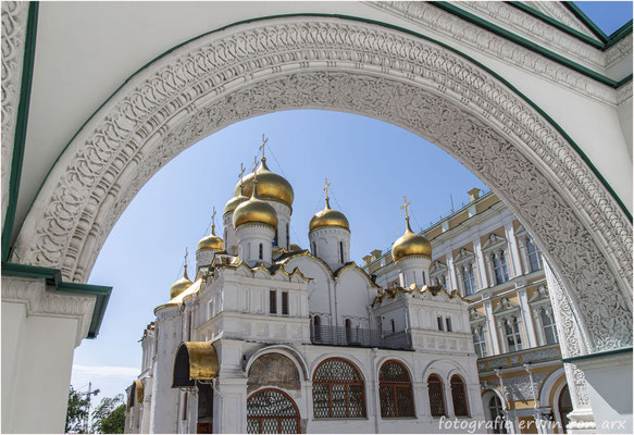 Moskau, Kremel. Mariä Verkündigungs-Kathedrale
