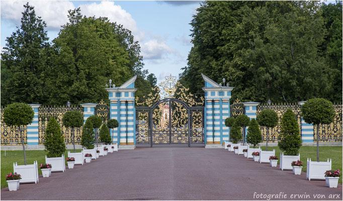St. Petersburg. Eingangstor zum Katharinenpalast