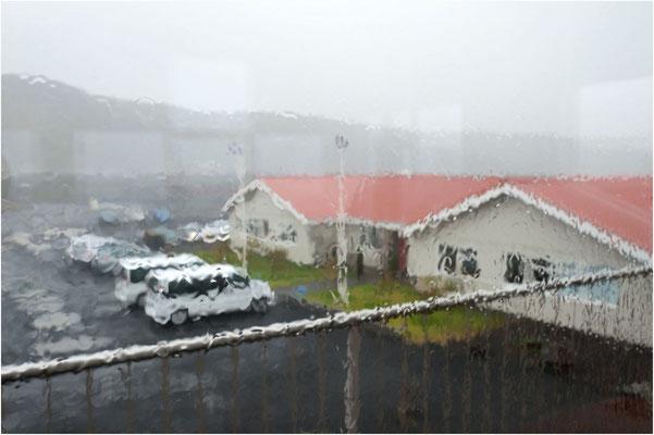 Island, am Morgen des Abreisetages