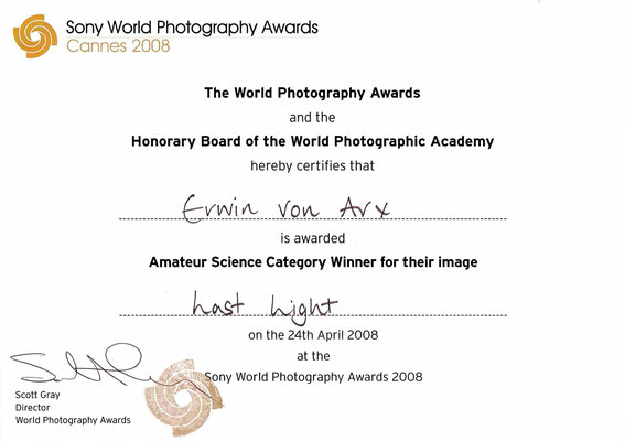 Sony World Photography Awards 2008