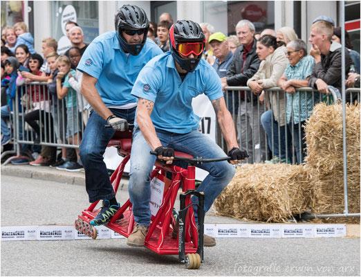 Bürostuhlrennen 2017 in Olten