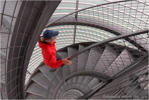 Friedrichshafen, Treppe zur Aussichtsplattform