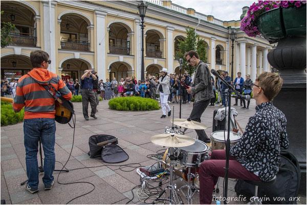 St. Petersburg. Strassenmusiker