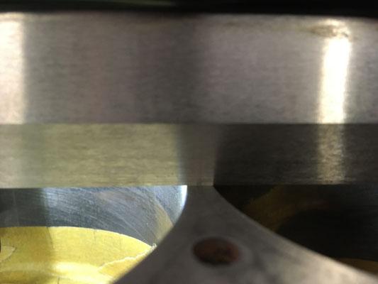 Stegbereich am Motorblock 2 und 3 Zylinder