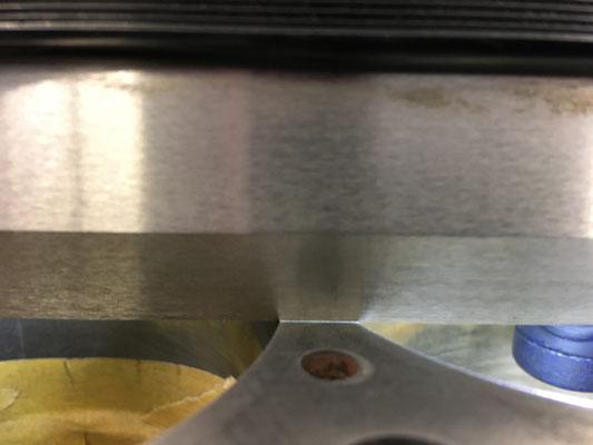 Stegbereich am Motorblock 3 und 4 Zylinder