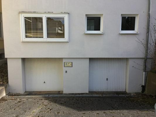 Meine beiden Garagen...