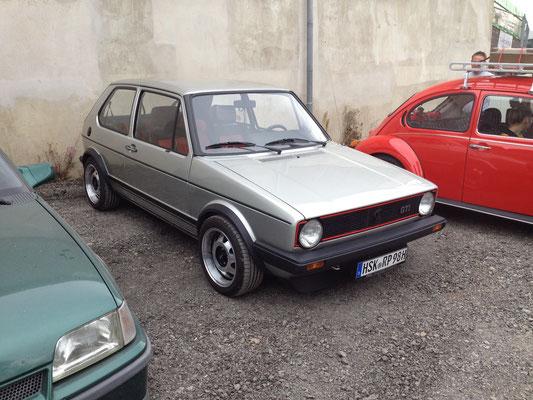 Der 1er GTI, mit welchem Horst und ich die Ausfahrt bestritten haben... ;)