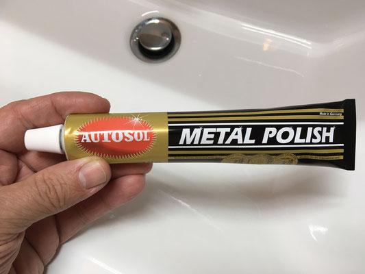 """Kein Problem für meine Zahnbürste und """"Autosol Metal Polish""""! ;)"""