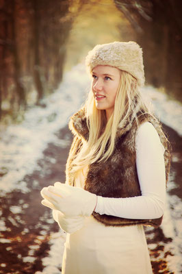 1-persoonsfotografie Hardenberg, fotograaf Overijssel, winterfotografie