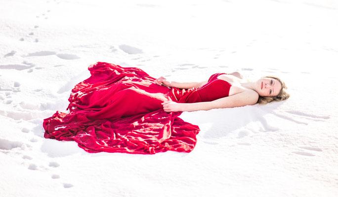 modelfotografie, fantasie, sneeuw, fotograaf hardenberg, fotograaf overijssel