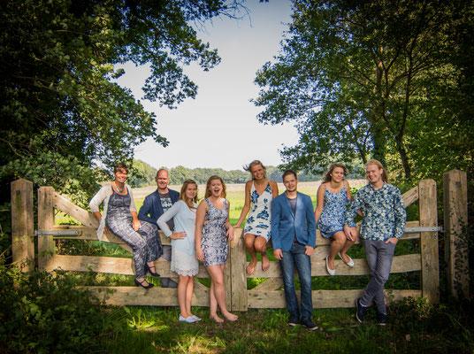 Familieshoot, Hardenberg, Overijssel