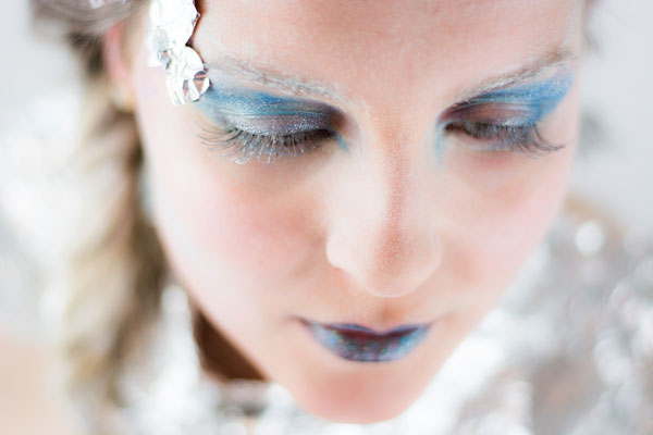 Winter fantasy make up visagie Hardenberg