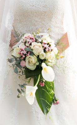 bruidsboeket, trouwreportage, fotografie Hardenberg