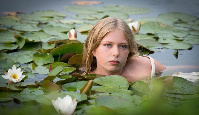 Waternimf, waterlelie, fotografie Hardenberg, fotograaf Hardenberg