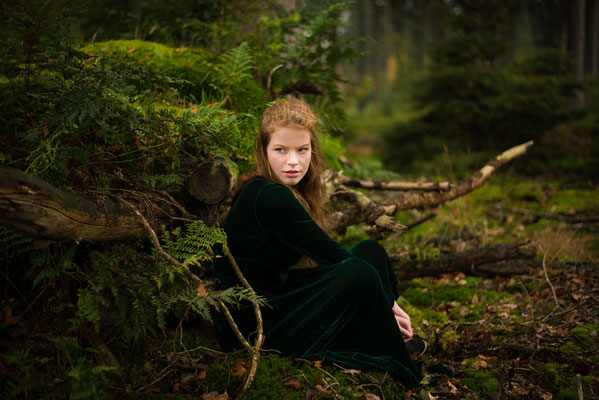 1-persoonsshoot, senior shoot, fairy, model, fotografie Hardenberg