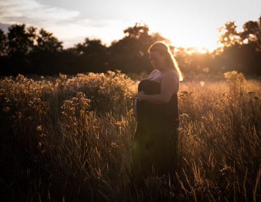 Zwangerschapsshoot, fotografie Hardenberg