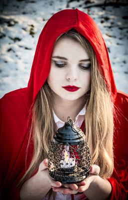 1-persoons fantasy shoot met visagie Hardenberg