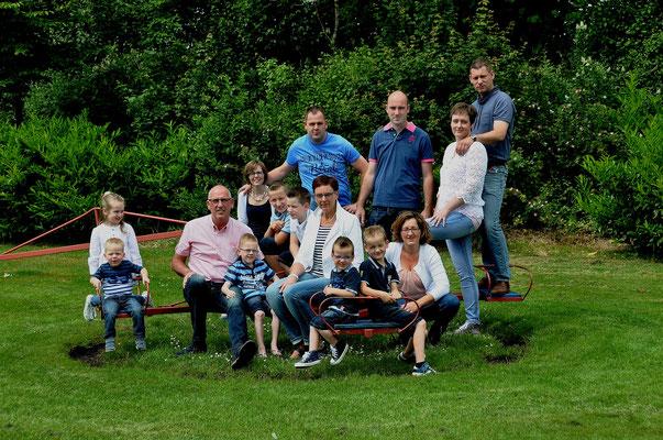 Fotografie groepen gezinnen Hardenberg