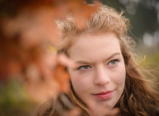 1-persoonsshoot, senior shoot, model, fotografie Hardenberg