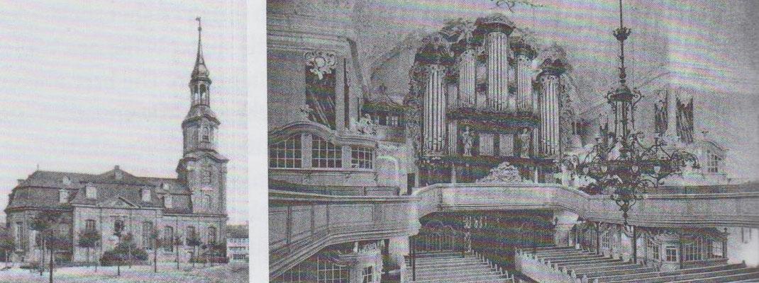 Heilige Dreieinigkeitskirche vor der Zerstörung