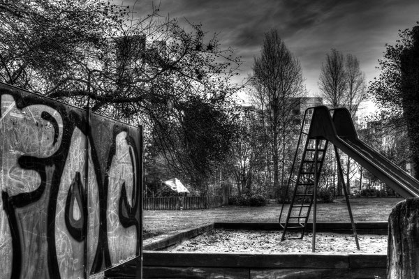 Steilshoop Spielplatz Gropiusring