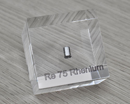 rhenium acrylic cube, metal acrylic cube, rhenium metal, rhenium, rhenium element cube, rhenium acrylic, acrylic cubes of elements for collection and display
