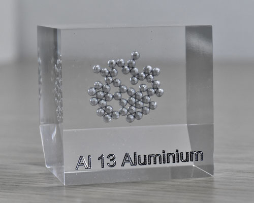 aluminum acrylic cube, metal acrylic cube, aluminum metal, aluminum pellets, aluminum element cube, aluminum acrylic, acrylic cubes of elements for collection and display