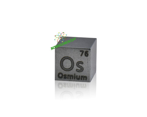 osmium cube, osmium metal cube, osmium cubes, osmium density cubes, metal density cubes, osmium cube for collection and display