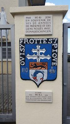 23 avril 2015 : entrée Foch, emplacement idéal pour une photo lors de votre passage à Donaueschingen.