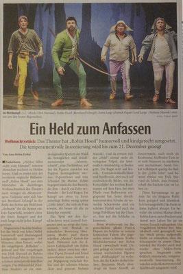 Zeitungsartikel 10.11.2017 - Neue Westfälische - Ein Held zum Anfassen