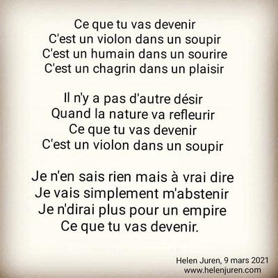 auteure : Helen Juren © Tous droits réservés