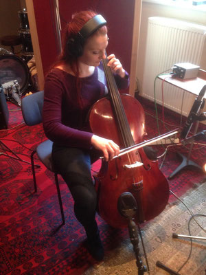 "Recording for Louis de Roos Album ""Little bird"" at Surrealis Studio Berlin | Foto: private"