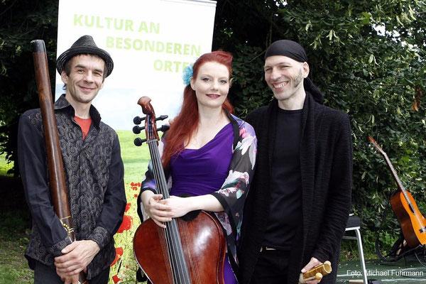 Das O.Ton Projekt bei den Altmarkfestspielen 2017 | Foto: Michael Fuhrmann