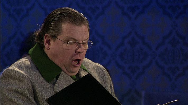 3sat Weihnachtsoratorium J.S. Bach - Solist Michael Schade