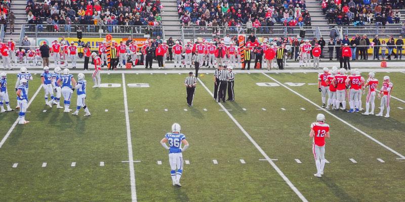 American Football Länderspiel AUT - ITA
