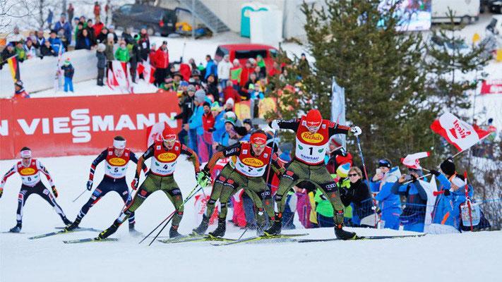 FIS Weltcup Nordische Kombination Ramsau